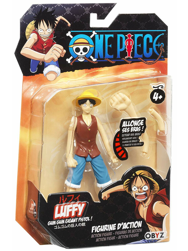 Abysse America Inc. ONE PIECE - Luffy Action Figure by ABYstyle a62cafb9652